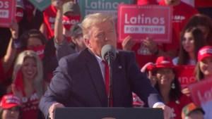El mensaje de Trump para la comunidad latina de EE.UU.