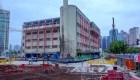 Este edificio 'camina' hacia una nueva ubicación