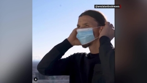 """Ibrahimović, sobre el covid-19: """"Le gané, pero tú no eres Zlatan; no lo retes"""""""