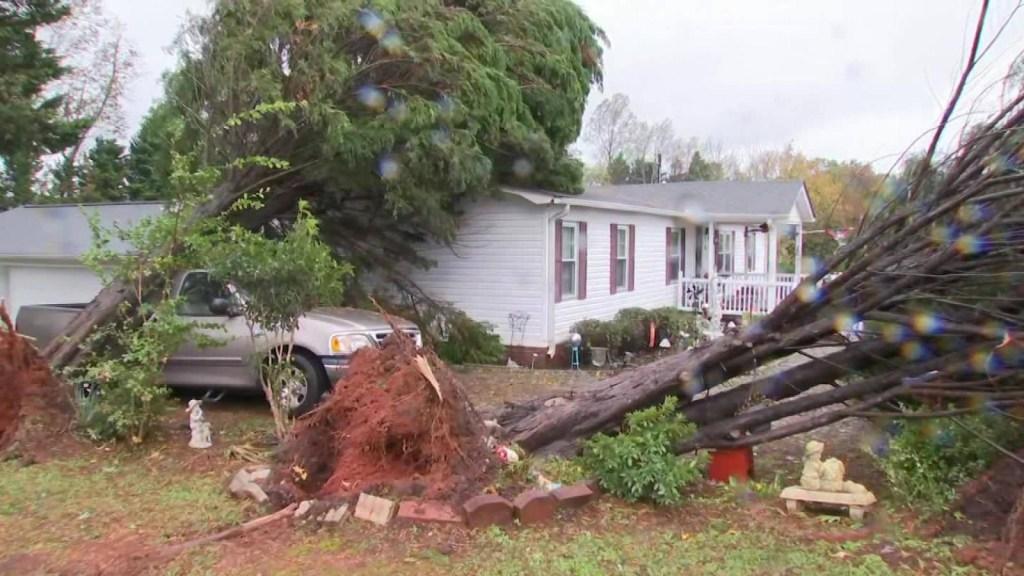 Estos fueron los estragos del huracán Zeta