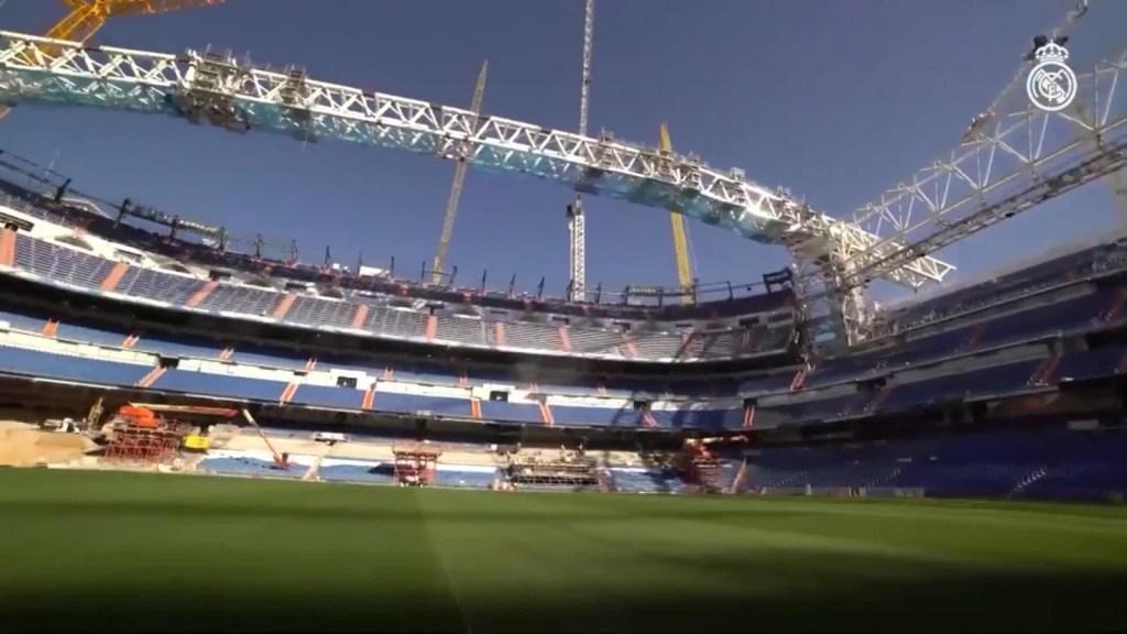 Así lucen las renovaciones del Santiago Bernabéu