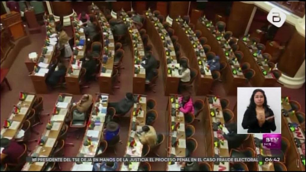 Bolivia: legisladores del MAS cambian las reglas y eliminan la de los dos tercios