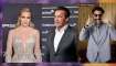 Schwarzenegger, Khloé Kardashian y Sacha Baron Cohen en La lista de Showbiz
