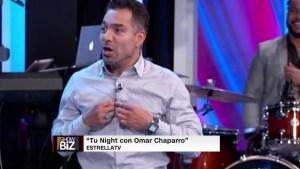 Omar Chaparro se acepta tal y como es