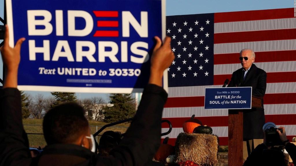 Ser pro-Biden en Florida es formar parte de la minoría