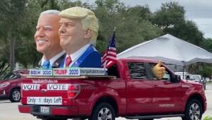 Votantes indecisos de Florida podrían mover la balanza