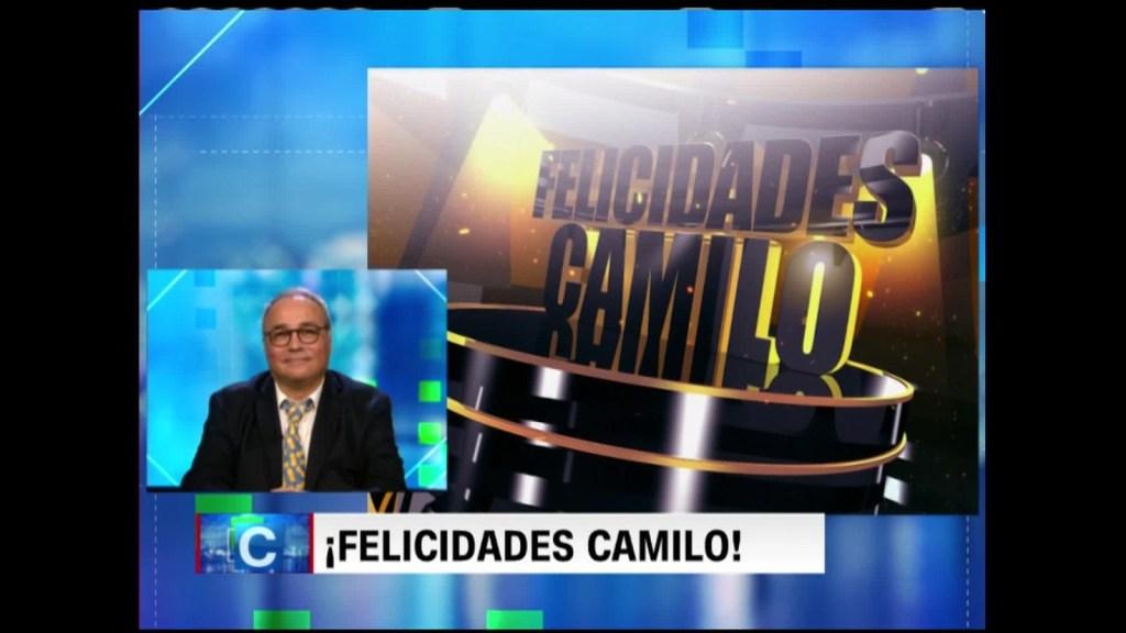 ¡Felicidades, Camilo!