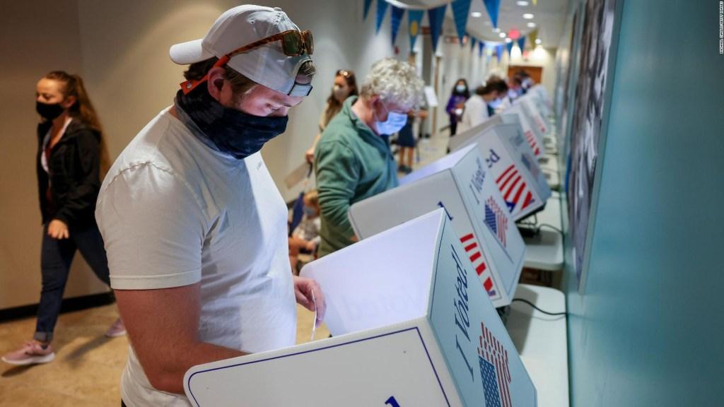 EE.UU.: récord en votos anticipados