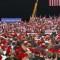 Tasas alarmantes de covid-19 tras mítines de Trump