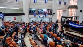 Nicaragua Asamblea Nacional Ley de Agentes Extranjeros