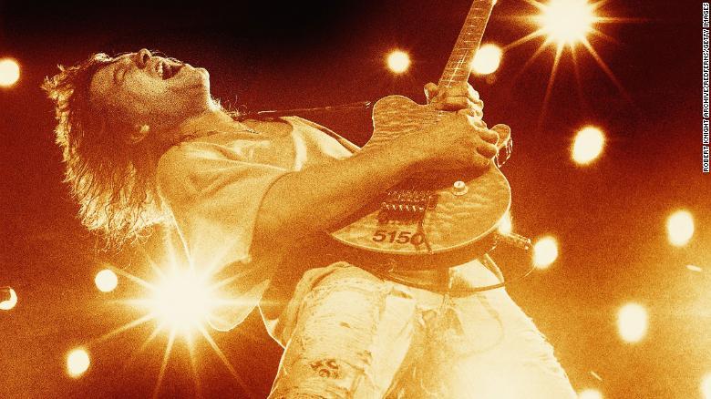 Eddie Van Halen fotos