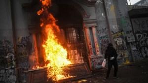 Protesas chile muertos heridos