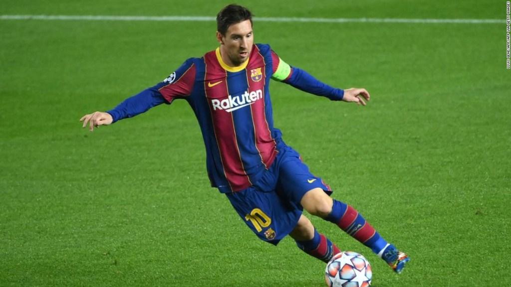 Lionel Messi rompe el récord de la Liga de Campeones mientras los adolescentes dan al Barcelona esperanza para el futuro