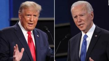 Encuesta de CNN: Biden ganó el último debate presidencial