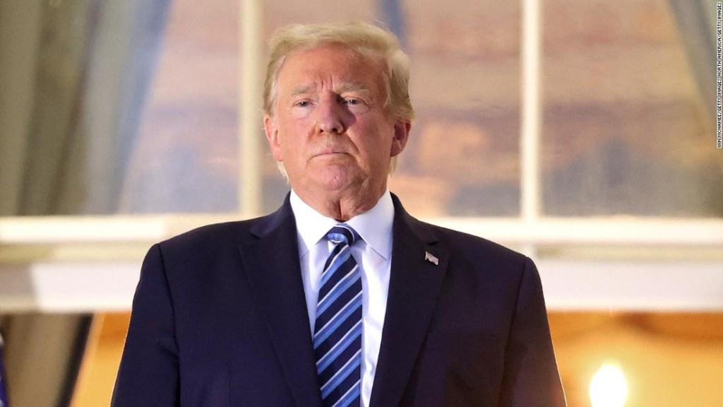 El comportamiento errático de Trump ignora el empeoramiento de la pandemia y sus víctimas