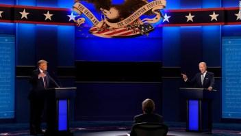 Biden dice que no debería haber un segundo debate si Trump todavía tiene covid-19