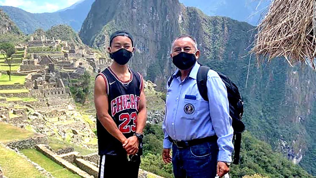 Perú abre Machu Picchu para un turista japonés coronavirus