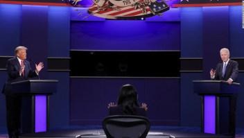 7 conclusiones del último debate presidencial Biden Trump