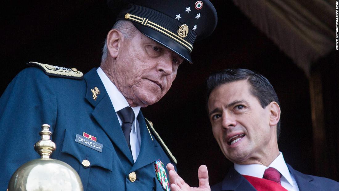 Salvador Cienfuegos Zepeda México Estados Unidos