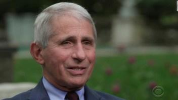 La crisis del covid-19 tendría que ser 'realmente, realmente mala' para implementar un bloqueo nacional, dice Fauci