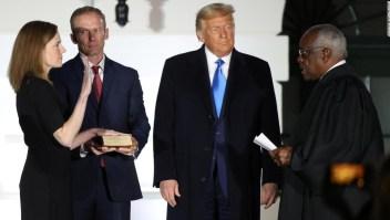 Trump toma la vuelta de la victoria en la Corte Suprema mientras engaña a la nación por el empeoramiento de la pandemia
