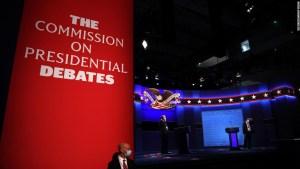 La Comisión de Debates Presidenciales dice que hará cambios en el formato para 'asegurar una discusión más ordenada'