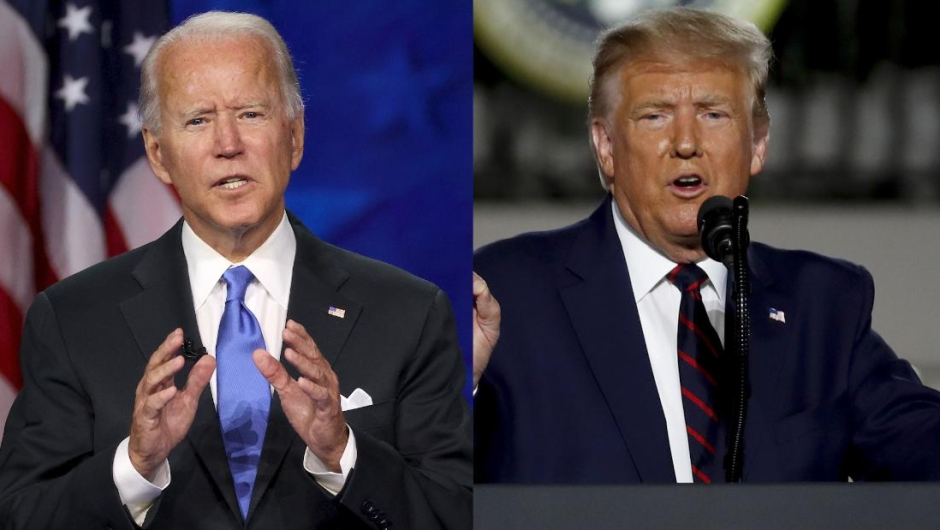 ANALYSIS |  Trump and Biden cross paths in final sprint as virus progresses