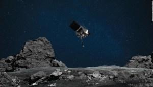 La misión de la NASA aterrizará hoy en el asteroide Bennu