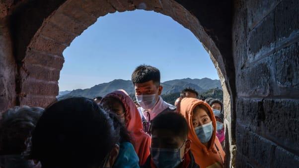 China pandemia Gran Muralla