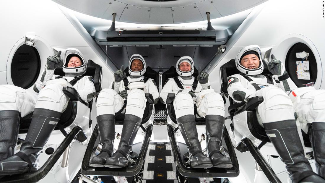 nasa spacex astronautas