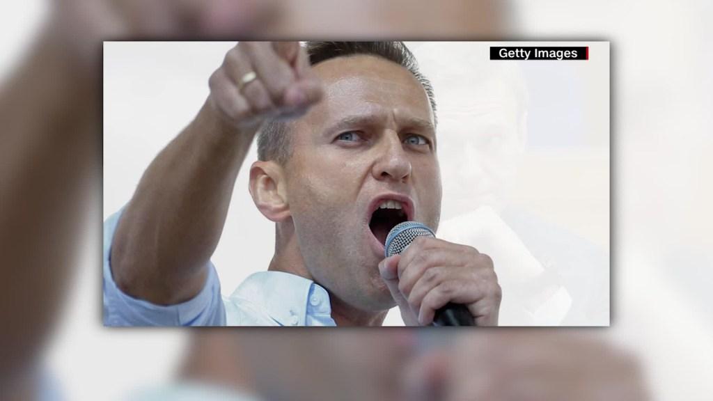 Navalny acusa a Putin por su supuesto envenenamiento