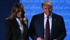 Trump dice que él y Melania dieron positivo por coronavirus