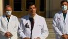 Médicos de Trump dicen que será dado de alta esta noche