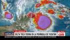Delta toca tierra como huracán categoría 2