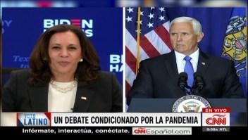 Debate entre Harris y Biden estará condicionado por el covid-19