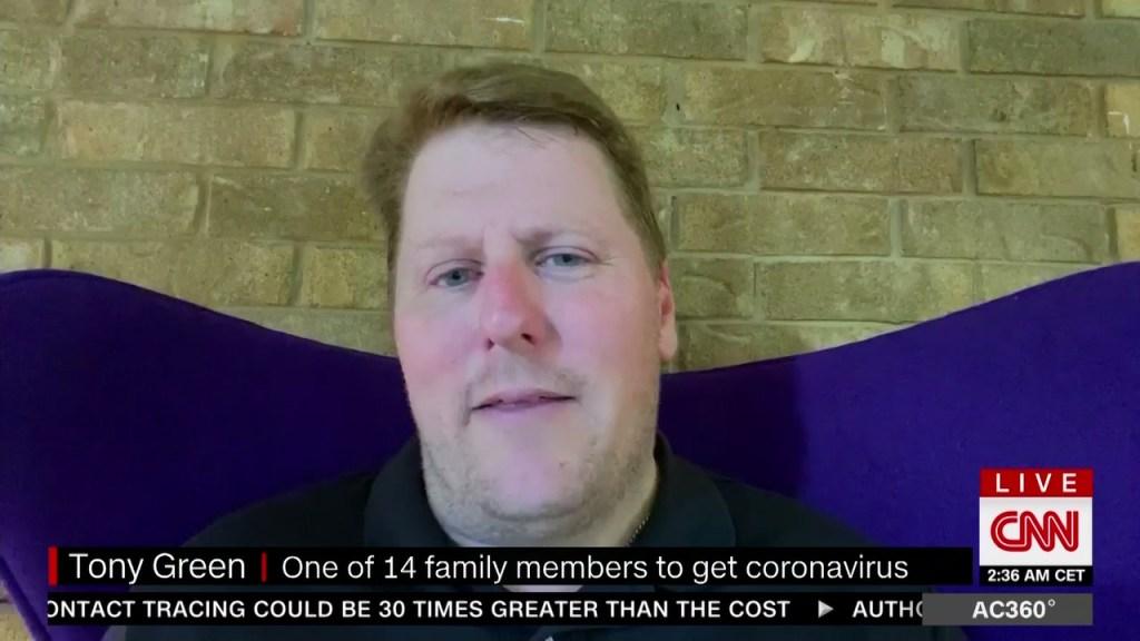 Creí que el covid-19 era una estafa: 14 miembros de la familia se enfermaron