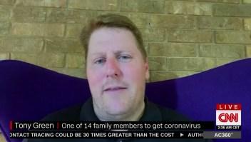 Creía que el covid-19 era un engaño: 14 familiares enfermaron