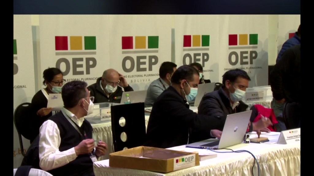 Áñez da como ganador a Luis Arce en las elecciones de Bolivia