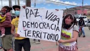 Las exigencias de la minga y el paro nacional en Colombia