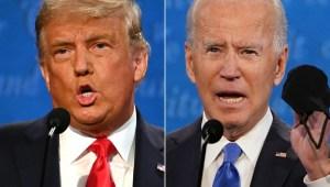Así chocaron Biden y Trump sobre la salud en debate final