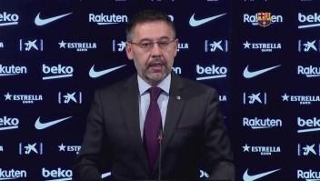 Bartemeu deja al Barça; Tusquets presidirá