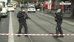 Tres personas murieron tras un ataque con cuchillo en Niza