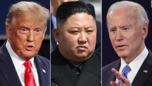 Corea del Norte Trump Biden