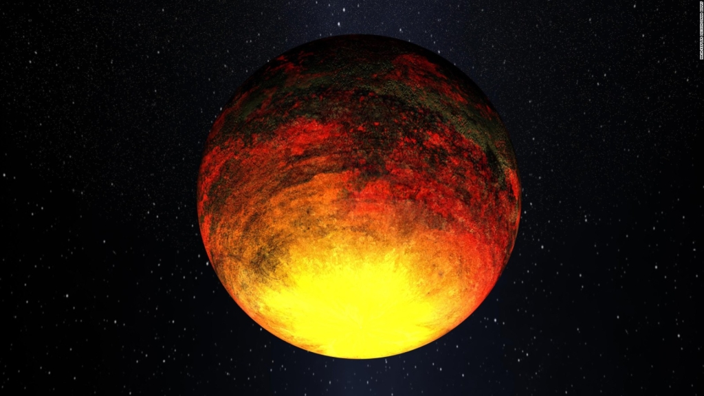 Científicos logran predecir clima en planeta de lava