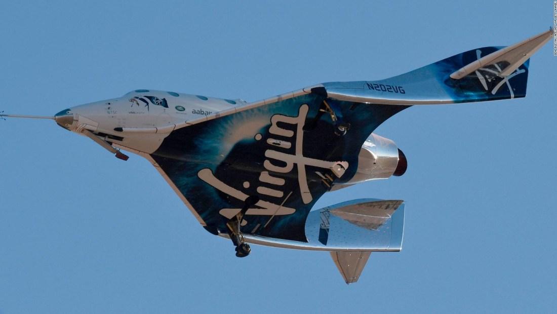 Virgin Galactic suspende prueba clave de nave espacial