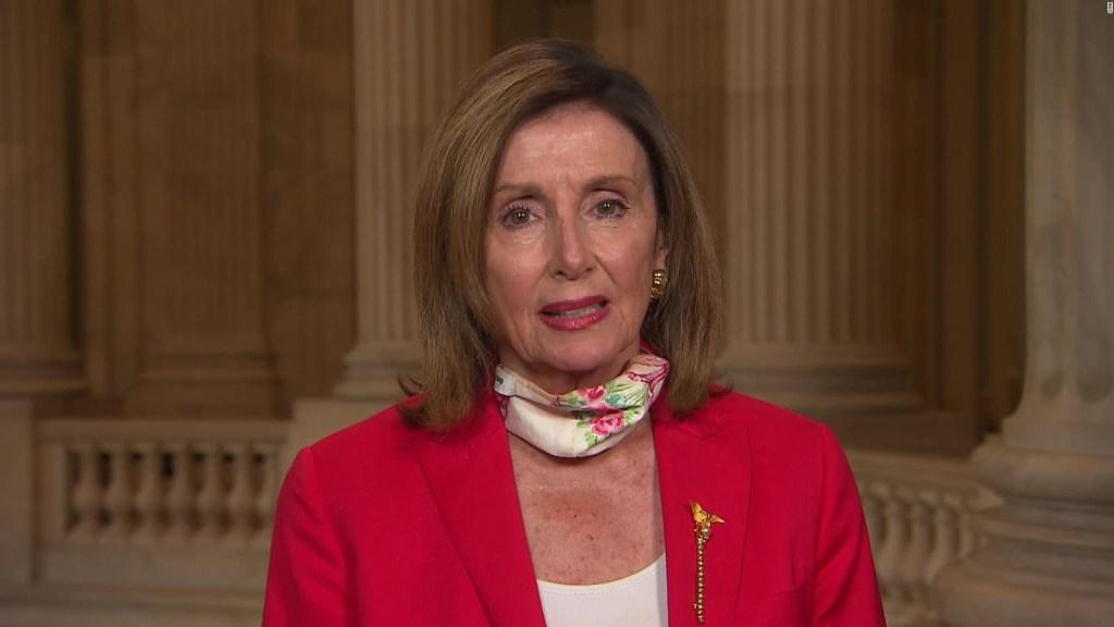 Pelosi cancela cena en el Congreso tras polémica en redes