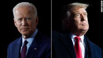 A pesar de Alaska, Trump sigue lejos de Biden en votos