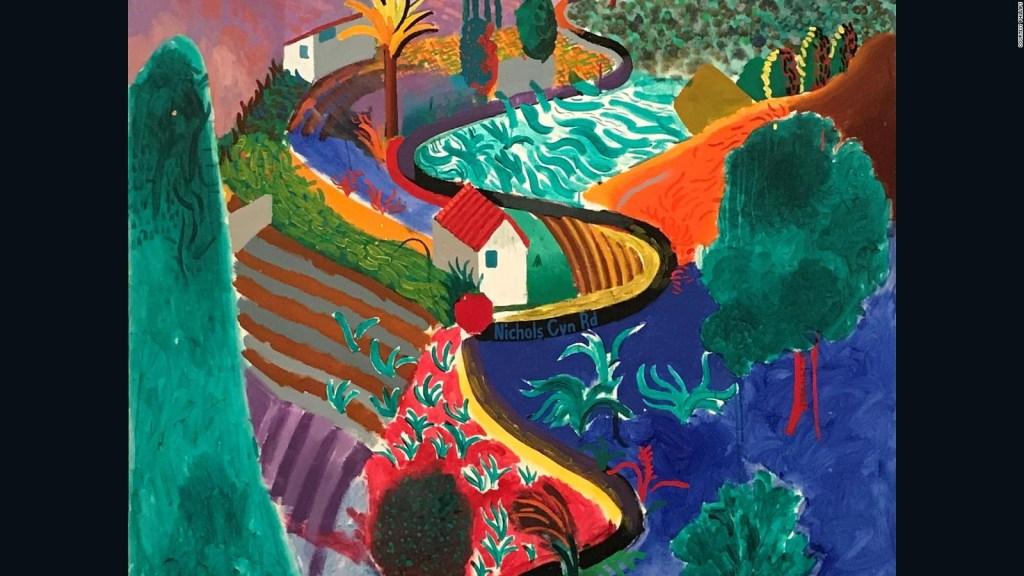 Subastarán paisaje de Hockney por US$ 35 millones
