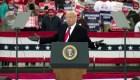 A 2 días de elección, Trump hace campaña en 5 estados