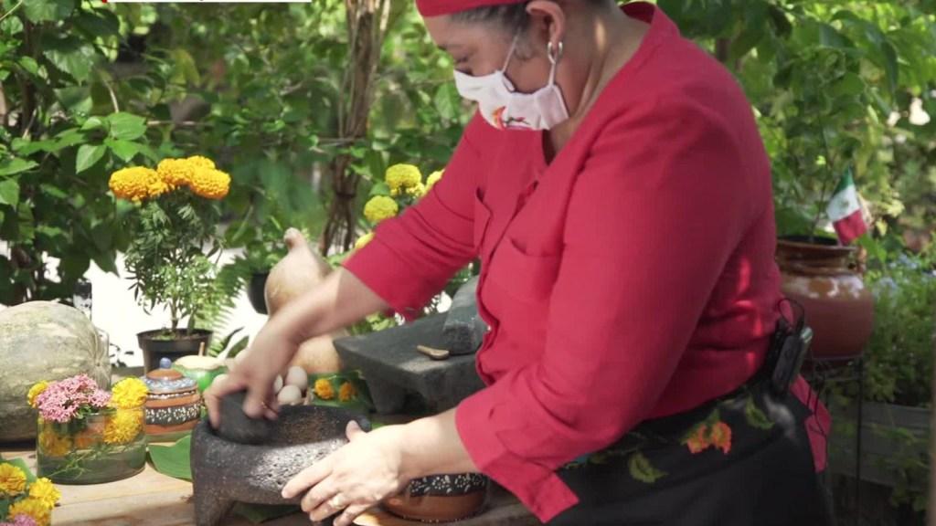 Cocina típica de Guerrero para la celebración de Día de Muertos
